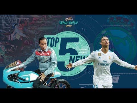 Top 5 News: Jokowi ala Dilan di IIMS 2018, Ronaldo Selamatkan Madrid