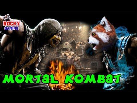 РОККИ играет в MORTAL KOMBAT XL! Часть 2: приключения продолжаются! 18+