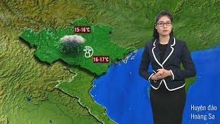 Bản Tin Thời Tiết Mới Nhất (6h - 24/11/2017) | Dự Báo Thời Tiết 3 Ngày Tới