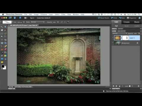 New Features In Photoshop Elements 9: Layer Masks