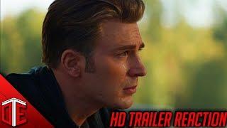 Avengers: End Game Trailer Reaction