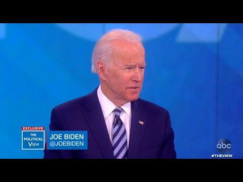 Joe Biden reacts to resurfaced audio of Bloomberg | The View
