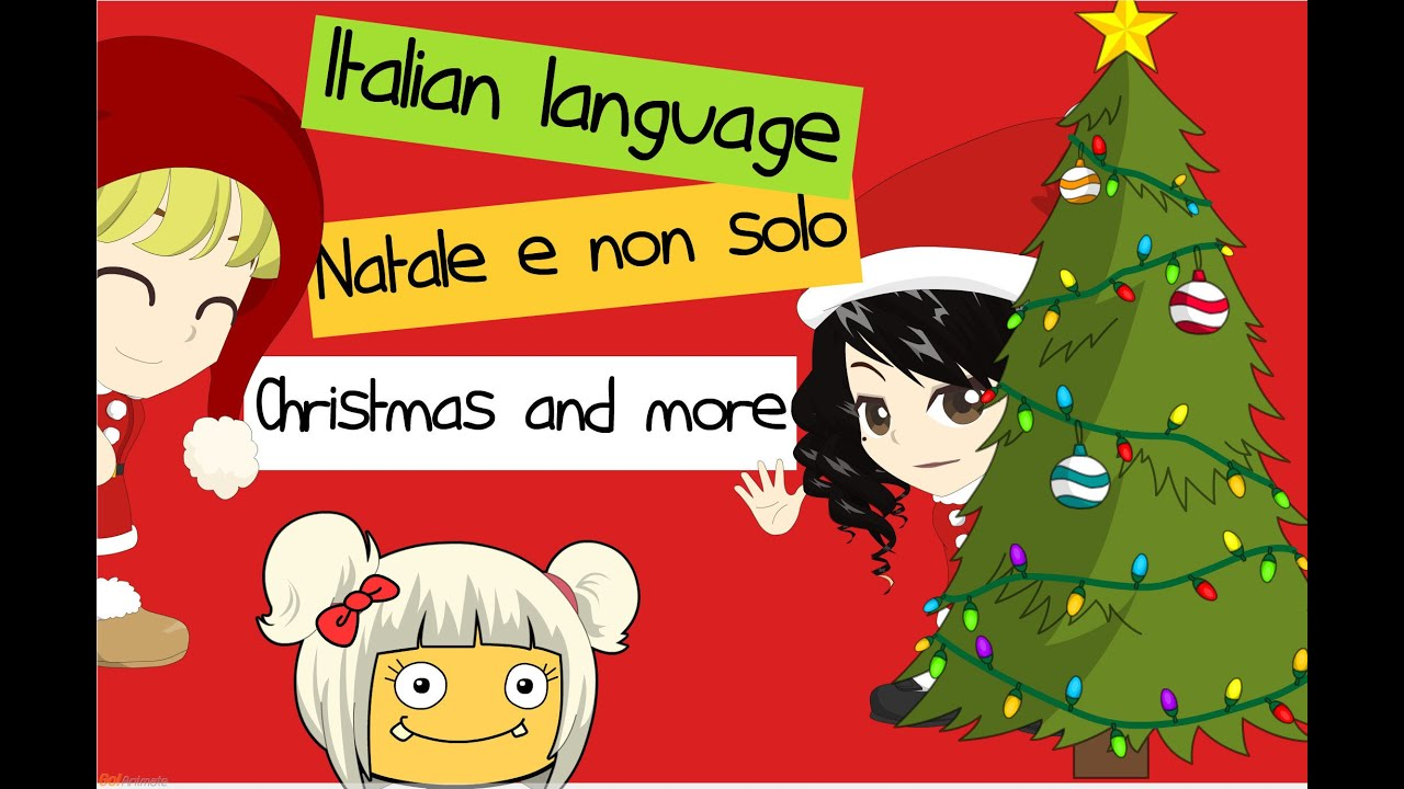 merry christmas and more in italian buon natale e non solo in italiano