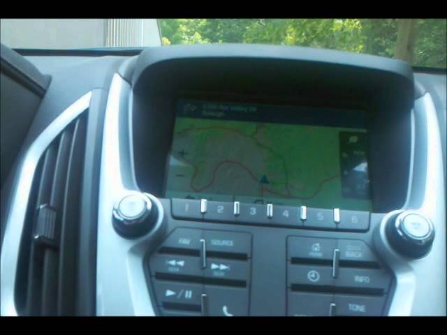 Added Factory Navigation To 2011 2 Gmc Terrain Youtube