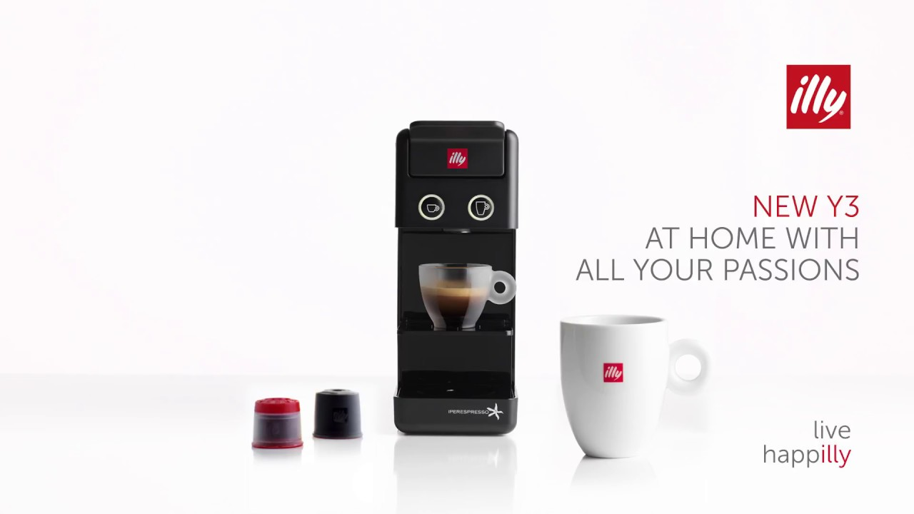 Illy y3 2 youtube - Cafetera illy ...