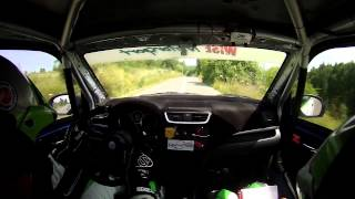 Transilvania Rally 2015 Vlad Cosma + Diana Hategan On-board PS7 Rasca-Dangau
