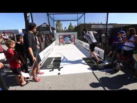 Get Quick Challenge - Alex Burrows - The Hockey Shop, Vancouver