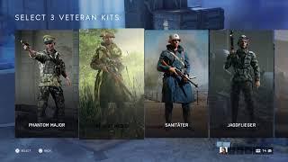 Battlefield V - Choose 5 Veteran Rewards: Desert Commando & Medic, Fallschirmjager, Sanitater (2018)