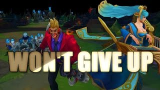 Won't Give Up [Taylor Swift - Blank Space | League of Legends PARODY]