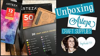 Unboxing Arteza Supplies   Craft Supplies Review   Must Have Craft Supplies   Vinyl Review
