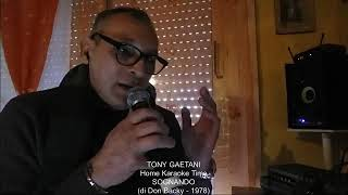 Tony Gaetani SOGNANDO (di Don Backy) Home Karaoke Time