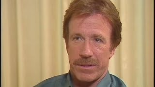 """Chuck Norris - Interview for """"Hero and the Terror"""" - 1988"""