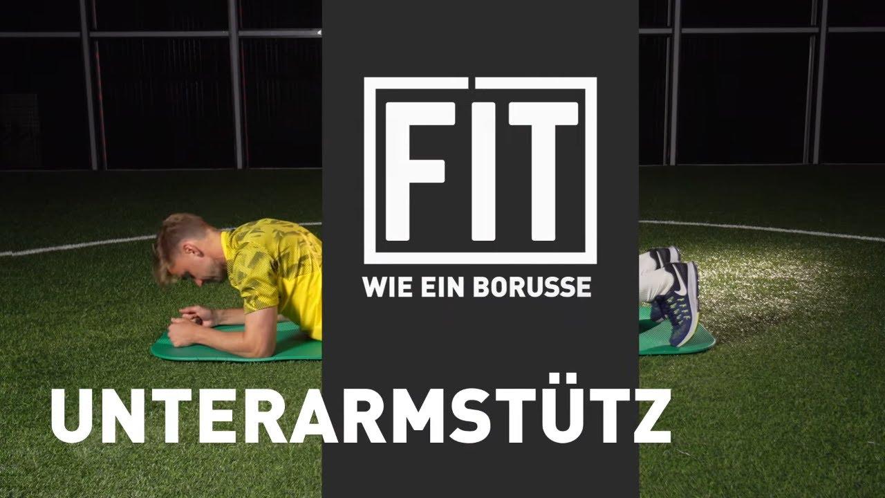 Unterarmstütz | Fit wie ein Borusse mit Marcel Schmelzer