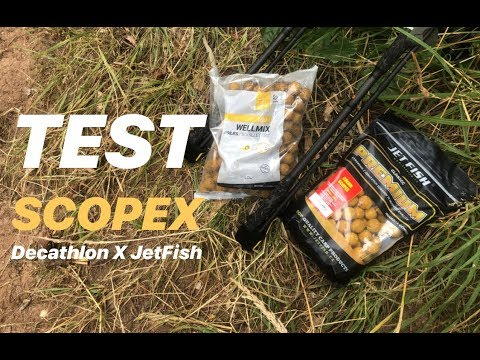 TEST BOILIES™ SCOPEX Decathlon X JET FISH - Test Dvou Nástrah Na Ruseku