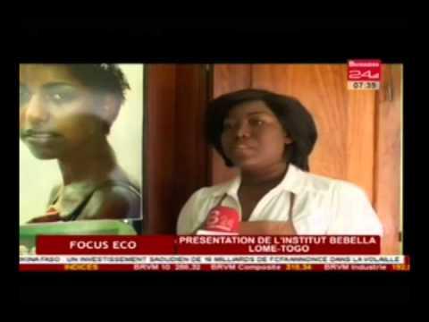 Business 24 / Focus Eco - Presentation de l'institut Bebella Lome-Togo