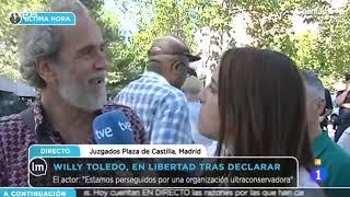 Willy Toledo sobre su detención por ejercer el derecho a la libertad de expresión