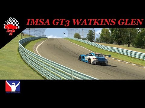 IRacing IMSA GT3 At Watkins Glen