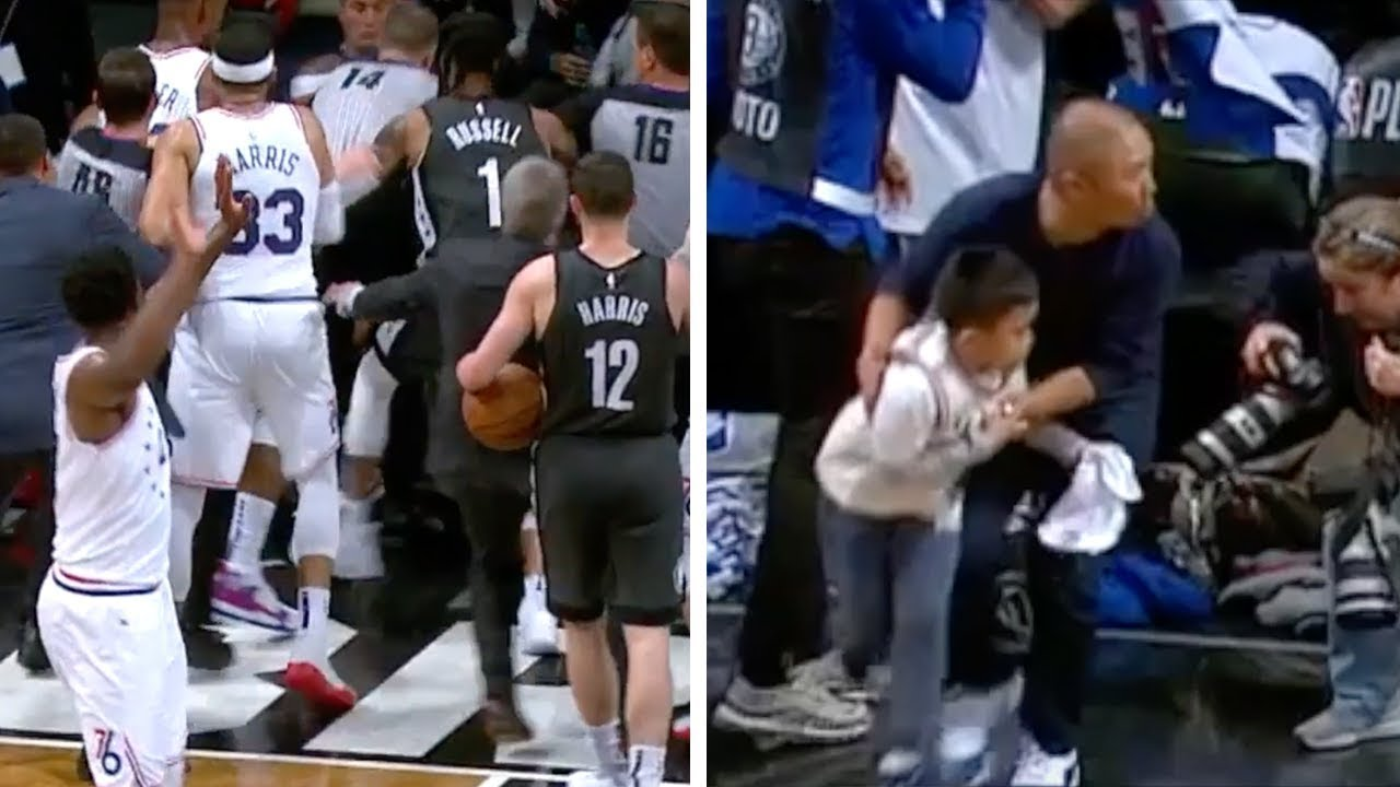 DAD OF THE YEAR!   Nets vs. Sixers Game 4