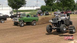 Sparta 300 Dirt Drag Racing