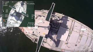 Skywalker FPV Package #2 drop on E Whale tanker ship