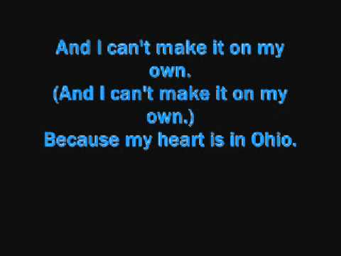 Hawthorne Heights- Ohio is for Lovers. (Lyrics.)