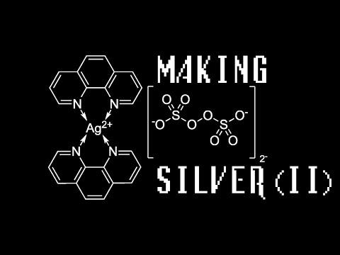 Making a Silver(II) complex