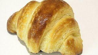 СЛОЁНОЕ ДРОЖЖЕВОЕ тесто. Круасаны/LAYER YEAST dough. Croissants