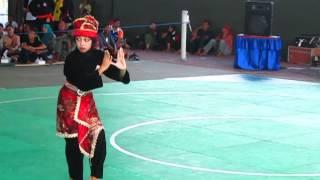 Pencak Silat Tunggal Putri Juara I O2SN SD Jawa Tenggah 2013. Sisilia hani Oktavira Kab. Karanganyar