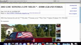 Craigslist Bismarck North Dakota - Used Cars and Trucks Available Online