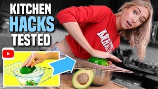 VIRAL KITCHEN HACKS TESTED... What ACTUALLY Worked