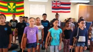 Oli Aloha - Kahakai Ukulele Ensemble. Bula Akamu