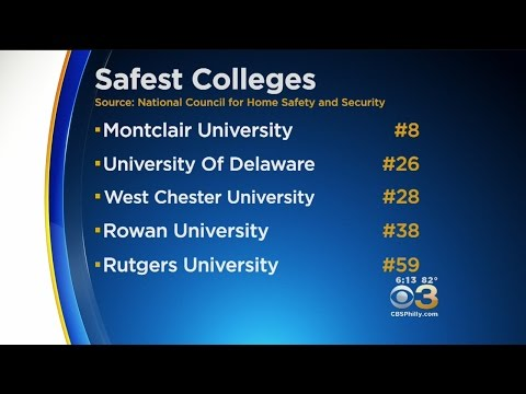 Several Area Universities Make List Of Safest Colleges In America