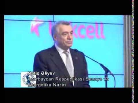 Natig Aliyev - Caspian Energy Integration Award 2013