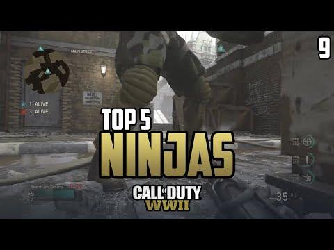 COD WWII: TOP 5 NINJA DEFUSES OF THE WEEK #9 - Call of Duty World War 2