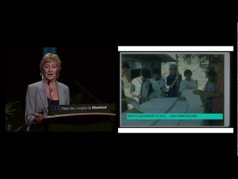 "Ecocity2011 | Janice Perlman | Eco-cities for ALL: Who are the people in ""cities for people""?"