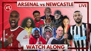 Arsenal vs Newcastle | Watch Along Live