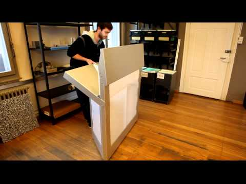 klappbar aus aluminium barelement youtube. Black Bedroom Furniture Sets. Home Design Ideas