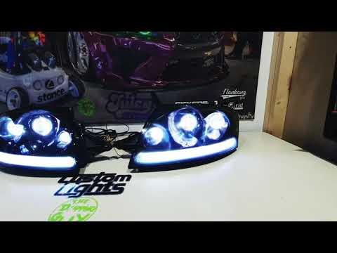 Mk1 Audi TT custom sequential headlights - YouTube
