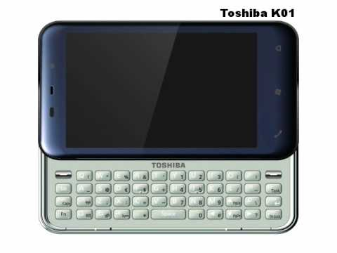 Toshiba TG02 and K01 Preview