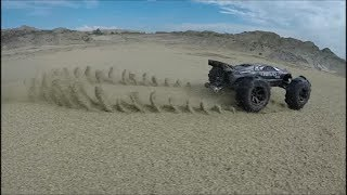 e-revo 1\16 vxl sand and water slow motion