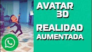 el MEJOR estado de WHATSAPP 2019 / (Tu Avatar 3D + Realidad Aumentada)