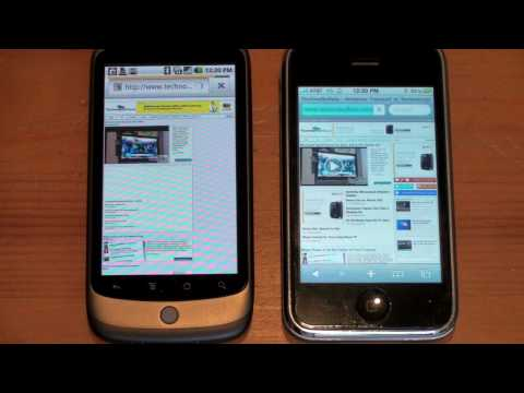 Nexus One Vs. iPhone 3GS: Network Speed & Camera Quality
