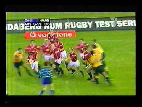2001 - British & Irish Lions Tour - Game 2