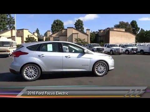 2016 Ford Focus Electric COSTA MESA,HUNTINGTON BEACH,IRVINE,NEWPORT BEACH,ORANGE COUNTY G203366