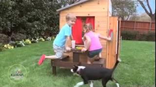 Kidkraft Modern Outdoor Playhouse 00182