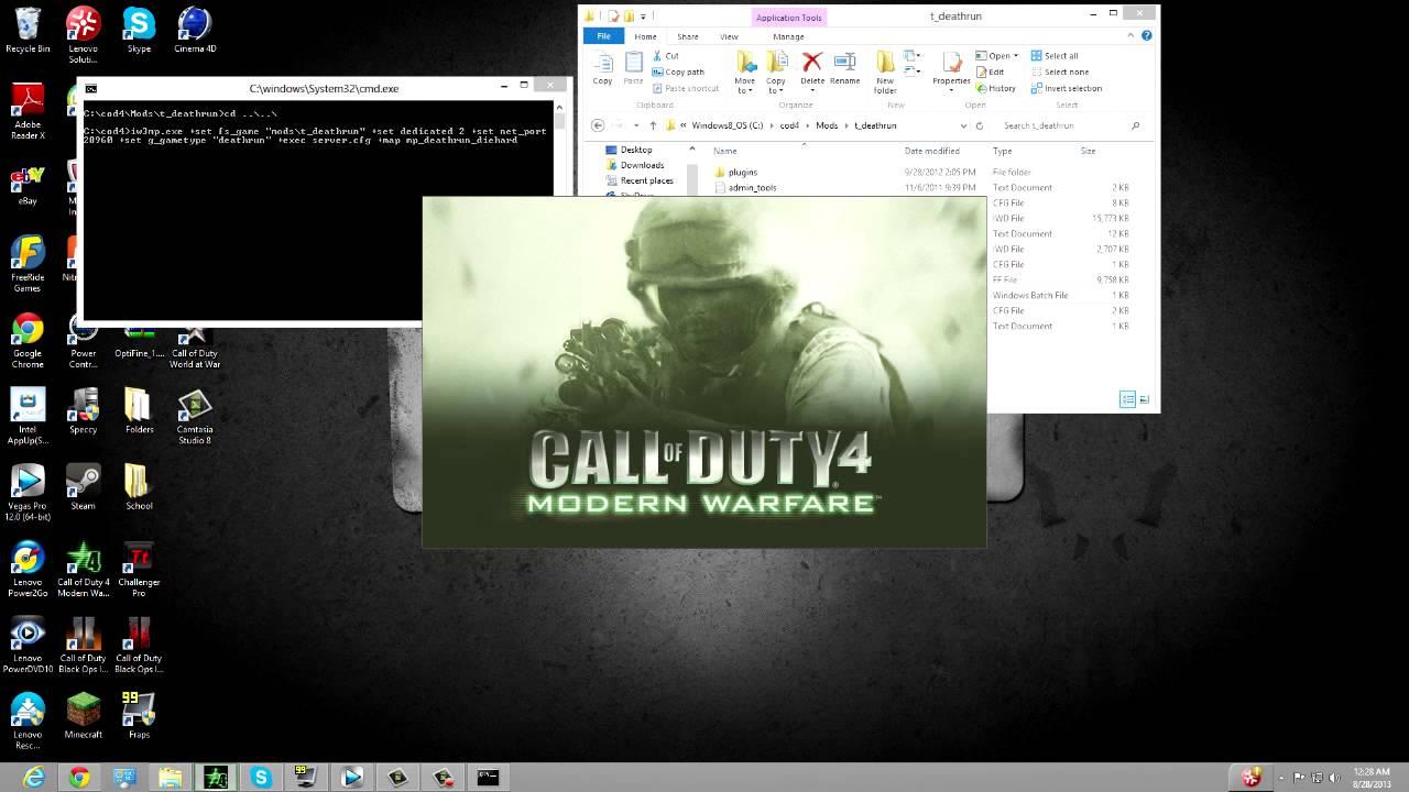 Cod4 как сделать сервер фото 3