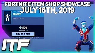Fortnite Item Shop CRABBY EMOTE IS BACK! [July 16th, 2019] (Fortnite Battle Royale)