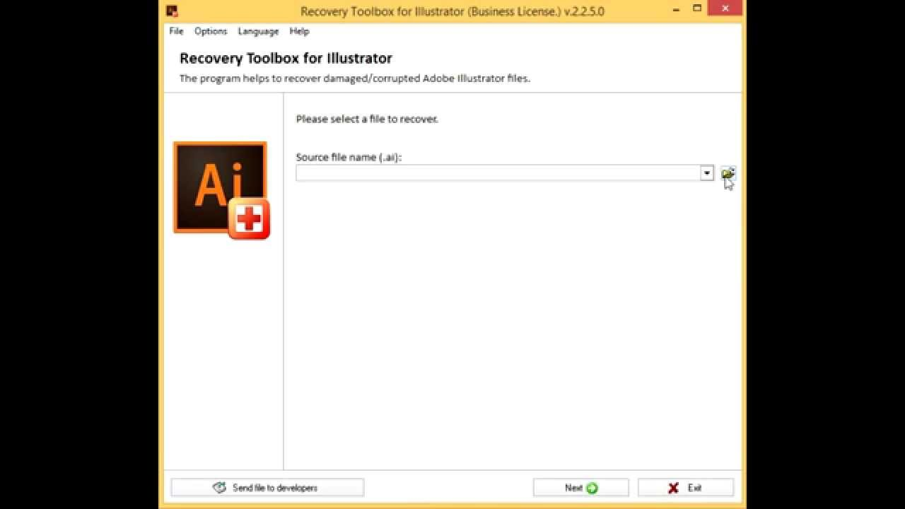 How to recover files (.ai) from Illustrator cs4 52