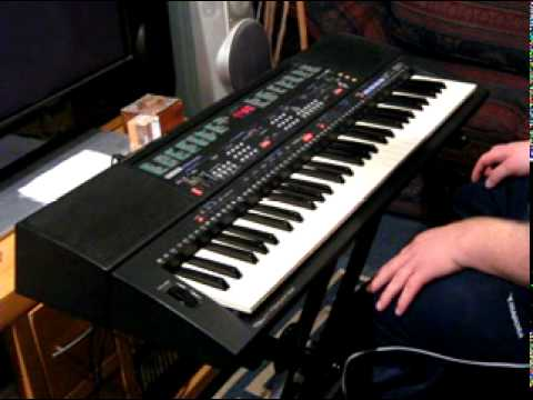 Yamaha psr 500 keyboard part 3 3 youtube for Yamaha keyboard parts
