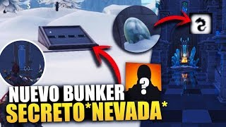 * NOVO BUNKER SECRETO ENCONTRADO * MISTÉRIOS E SEGREDOS * NEVADA * FILTRADA BATTLE ROYALE DO FORTNITE